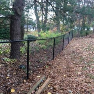 chain link fence installation weymouth ma